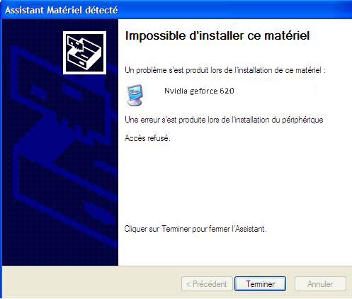 impossible-installer-materiel-acces-refuse