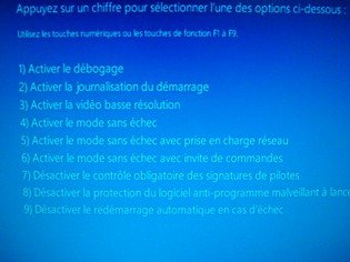 Bureau vide Windows 8