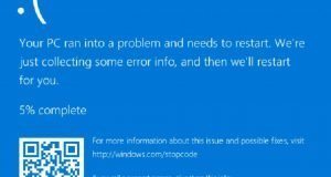 Blue screen memory mnagment